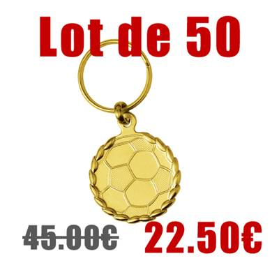 Porte-clefs foot lot 50